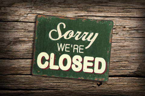 Sorry - Website closed